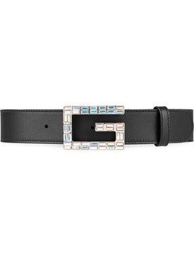 Gucci - Square G Buckle Belt - Women