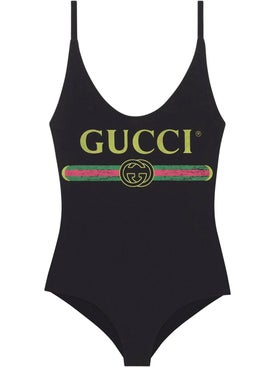 Gucci - Gucci Vintage Logo Swimsuit - Women