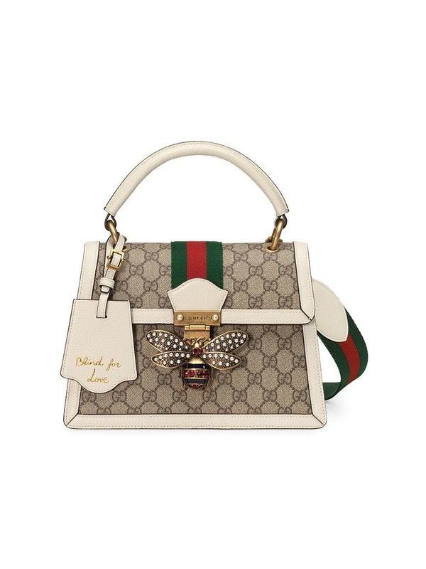 3d184d6c5 Queen Margaret small GG top handle bag - WOMEN | The Webster