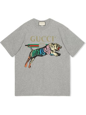 Gucci - Oversized Tiger T-shirt - Women