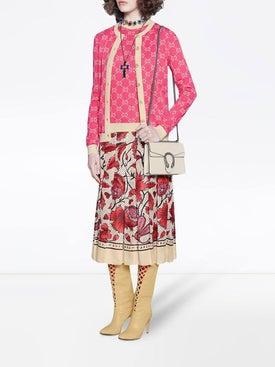 Gucci - Gg Jacquard Cotton Cardigan - Women