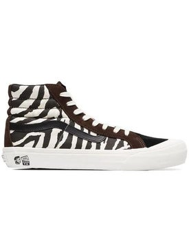 Vans - Brown And White Vault X Taka Hayashi Zebra Print Sneakers - Men
