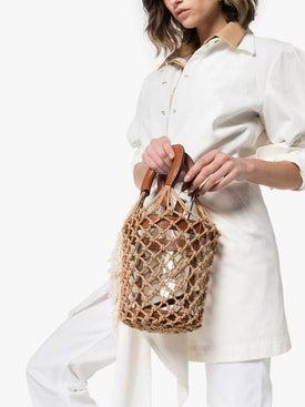 Staud - Pvc Moreau Netted Bucket Bag - Handbags