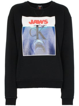 Calvin Klein 205w39nyc - Jaws Logo Cotton Sweatshirt - Women