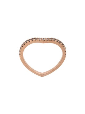 Eva Fehren - Rose Gold Private Diamond Ring - Women