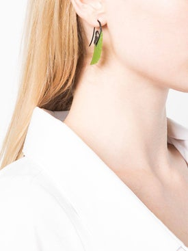 Noor Fares - Jade Fly Me To The Moon Earrings - Fine Jewelry