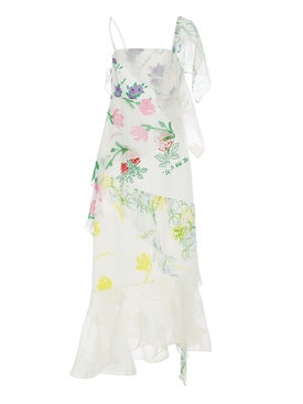 Rosie Assoulin - Floral Layered Slip Dress - Women