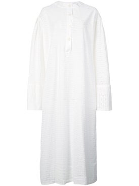 Natasha Zinko - Perforated Midi Dress White - Women
