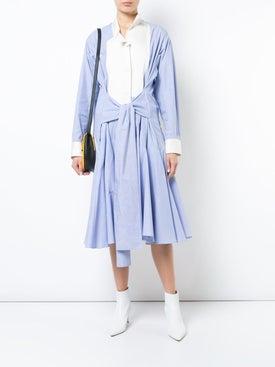 Loewe - Asymmetric Shirt Dress - Women