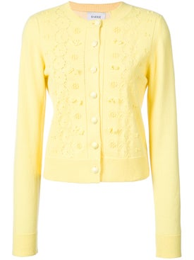 Barrie - Embroidered Button Cardigan - Women