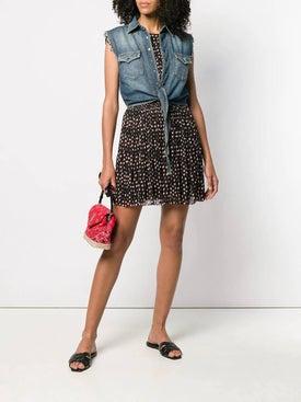 Saint Laurent - Sleeveless Denim Shirt - Women
