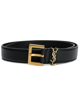 Saint Laurent - Ysl Plaque Buckle Belt - Women