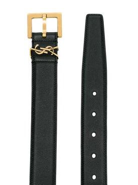 Saint Laurent - Ysl Plaque Buckle Belt - Women