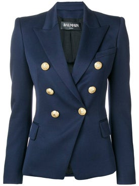 Balmain - Double Breasted Blazer Navy - Tailoring