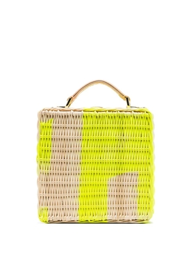 Natasha Zinko - Straw Crossbody Bag - Women