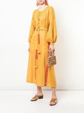 Vita Kin - Embroidered Midi Dress - Mid-length