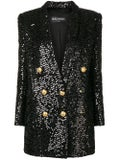 Balmain - Sequin Blazer Dress - Women