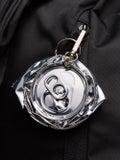 Raf Simons - Crushed Can Keyhanger Silver - Men