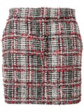 Thom Browne - Prince Of Wales Classic Checked Mini Skirt - Women