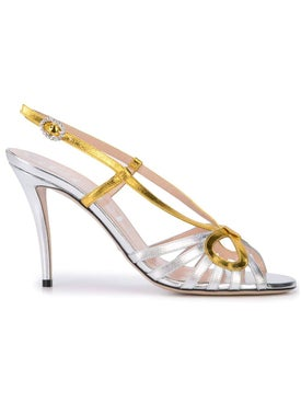 Gucci - Crossed Bow Sandals - Women