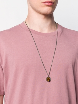 HEXAGON SPINNING NECKLACE