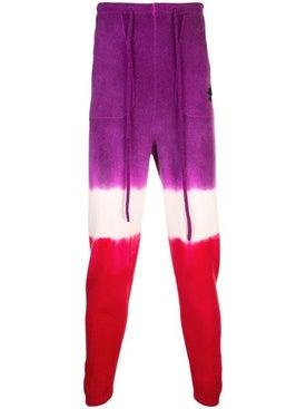 The Elder Statesman - Cashmere Multicolored Sweatpants - Men