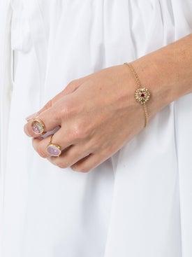 Aurelie Bidermann - 18kt Gold Bouquet Bracelet - Women