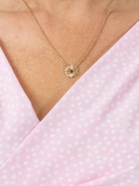 Aurelie Bidermann - 18kt Gold Bouquet Necklace - Women