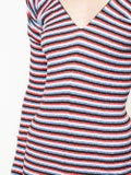 Sonia Rykiel - Striped Stretch Midi Dress Multicolor - Women