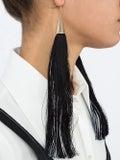 Eddie Borgo - Long Silk Tassel Earrings - Women