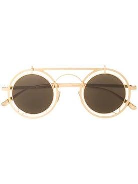 Mykita - Gold Round Steampunk Sunglasses - Women