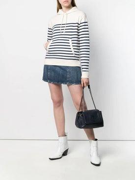 Saint Laurent - Horizontal Striped Hoodie - Women