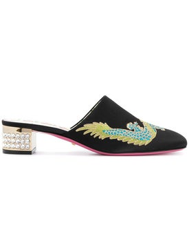 Gucci - Dragon Mule Black - Women