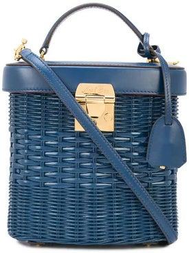 Mark Cross - Benchley Rattan Basket Handbag - Women