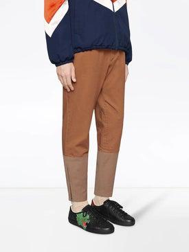 Gucci - Green Panter Ace Sneaker - Men