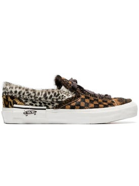 Vans - Brown Lx Furry Leather Low-top Sneakers - Men