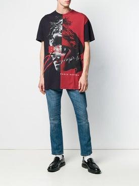 Balmain - Color Block Graphic T-shirt - Men