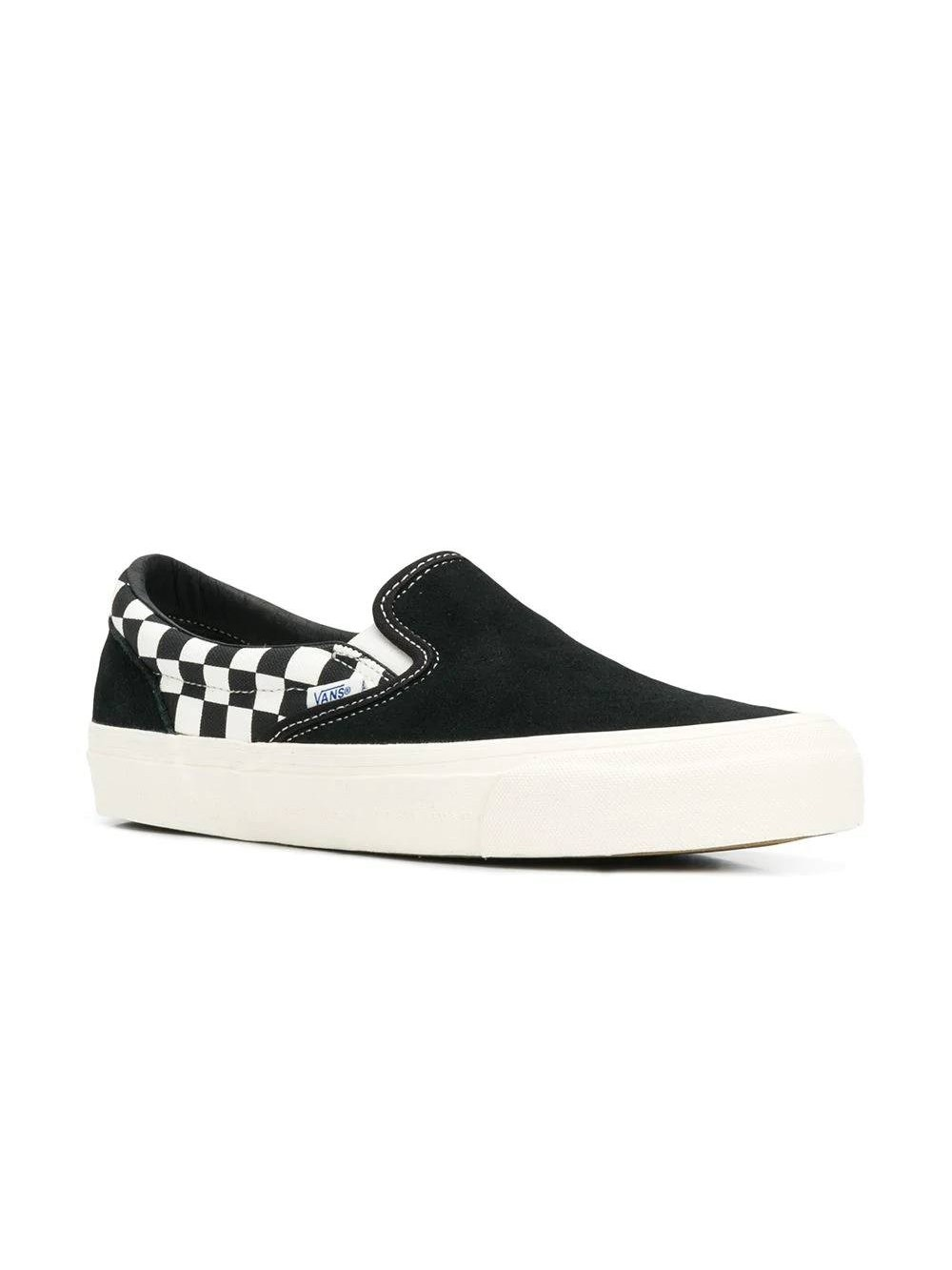 Vans Checkered Slip on Sneakers | The Webster