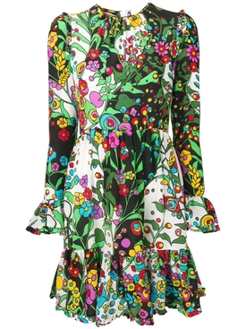 Short Summer Visconti Dress MULTICOLOR