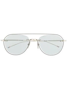 Thom Browne - Thom Browne X Dita Aviator Sunglasses - Women