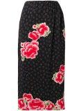 Simone Rocha - Floral Midi Skirt - Women