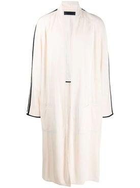 Haider Ackermann - Long Robe Coat White - Long