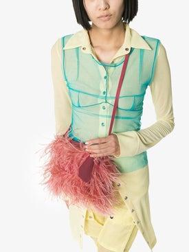 Marques'almeida - Feather Shoulder Bag - Women