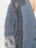 Stella Mccartney - Furry Fringed Cardigan Grey - Women