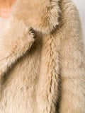 Stella Mccartney - Faux Fur Midi Coat - Women