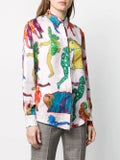 Stella Mccartney - Multicolored Silk Top - Women