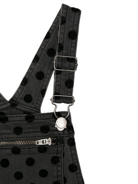 kids polka dot overalls