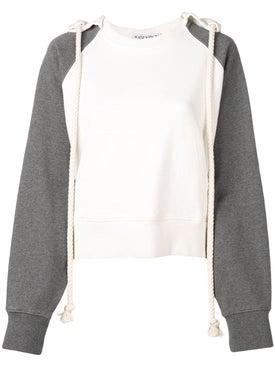 J.w. Anderson - Off White Rope Hoodie - Sweatshirts