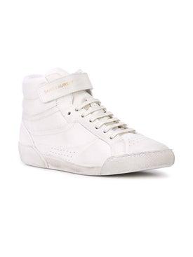 Saint Laurent - Lenny High Top Sneakers - Women