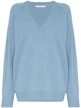 Givenchy - V-neck Relaxed Fit Sweater - Women